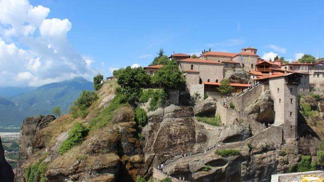 Monastery on Cliff