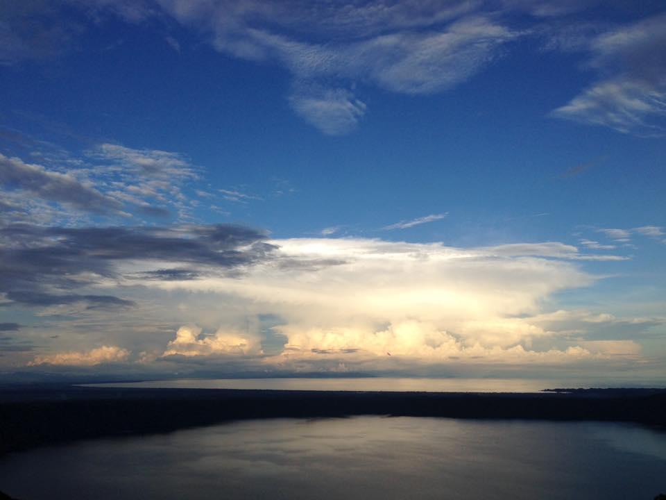 Lago y Mirador en Nicaragua